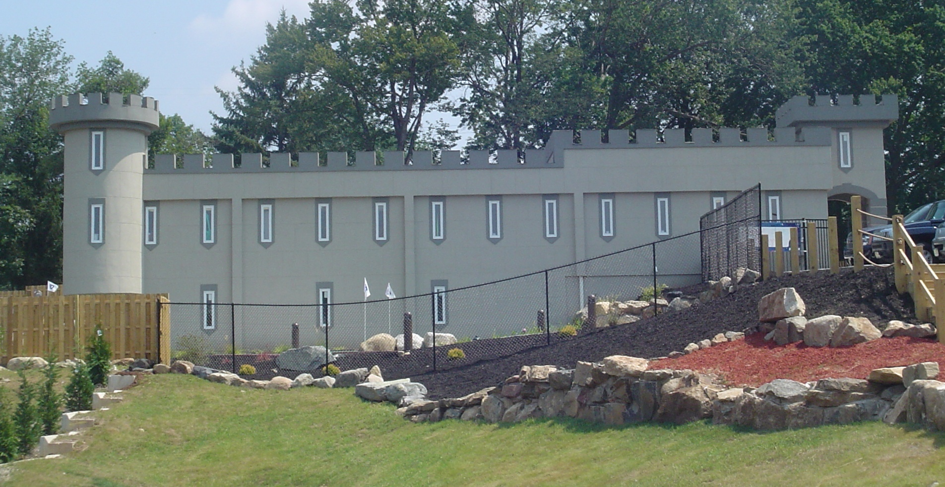 Castle Cove Mini Golf - Sussex County - Hardcoat Stucco