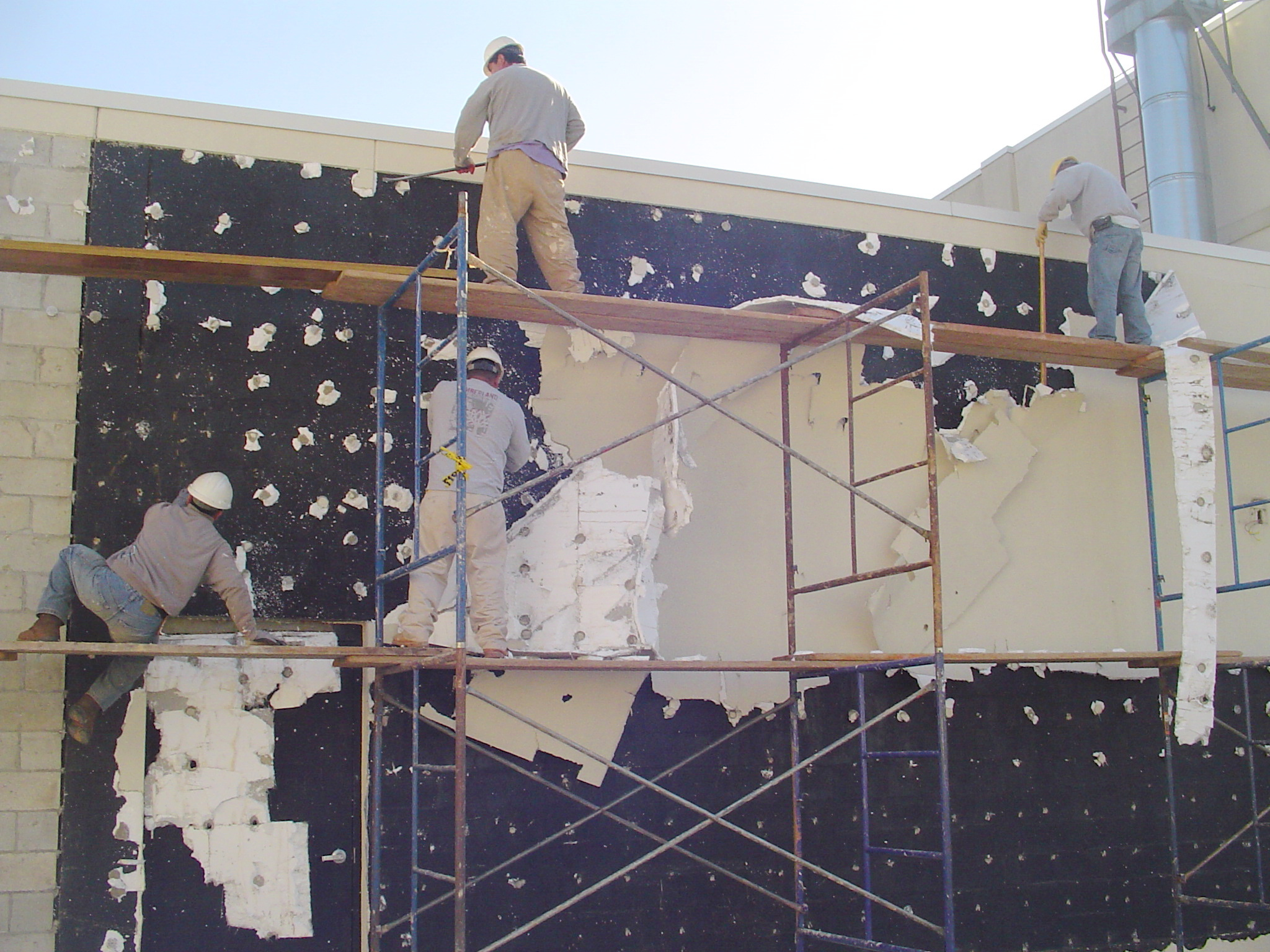 Removal of EIFS from Bergen County School