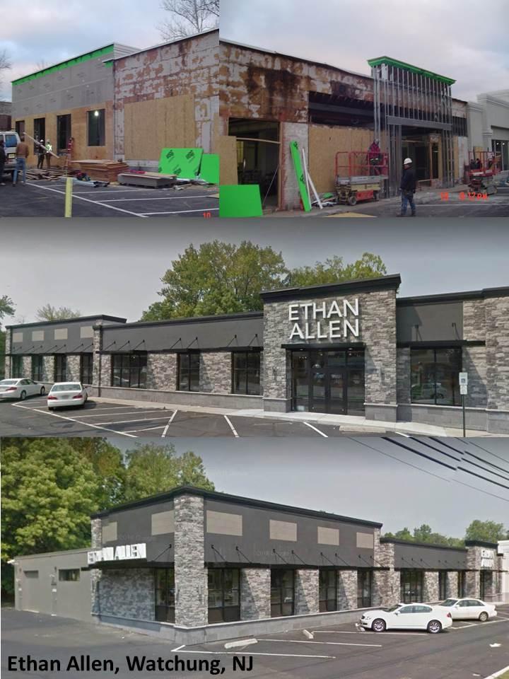 Renovation of Ethan Allen, Watchung, NJ