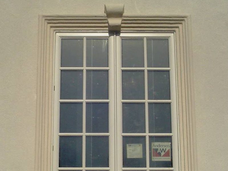 Custom window trim