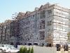 Apt building in Passaic County, OSHA compliant scaffolding