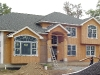 Custom home in Essex County construction phase.