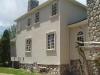 Custom home in Union County. Hardcoat stucco, stone, custom trim detail.