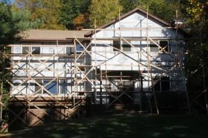 OSHA Compliant Stucco Scaffolding