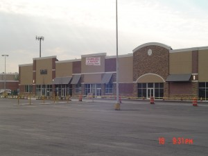 Completed exterior building - Linden Plaza