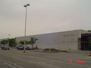 K Mart before exterior renovation