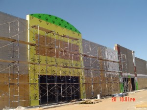 EIFS installation